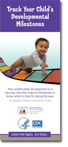 Developmental Milestones Brochure